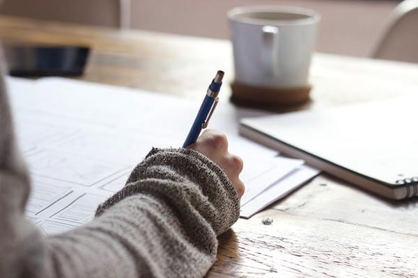 pisarz i pisanie